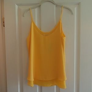 Violet & Claire Sunshine Yellow Tank Top